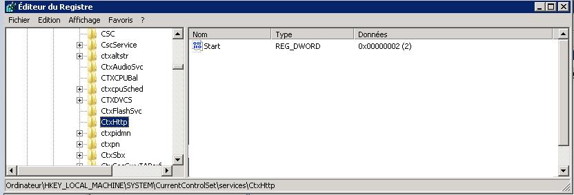 Citrix XenApp 6 5 le service «Citrix XML Service» a disparu - Barzek