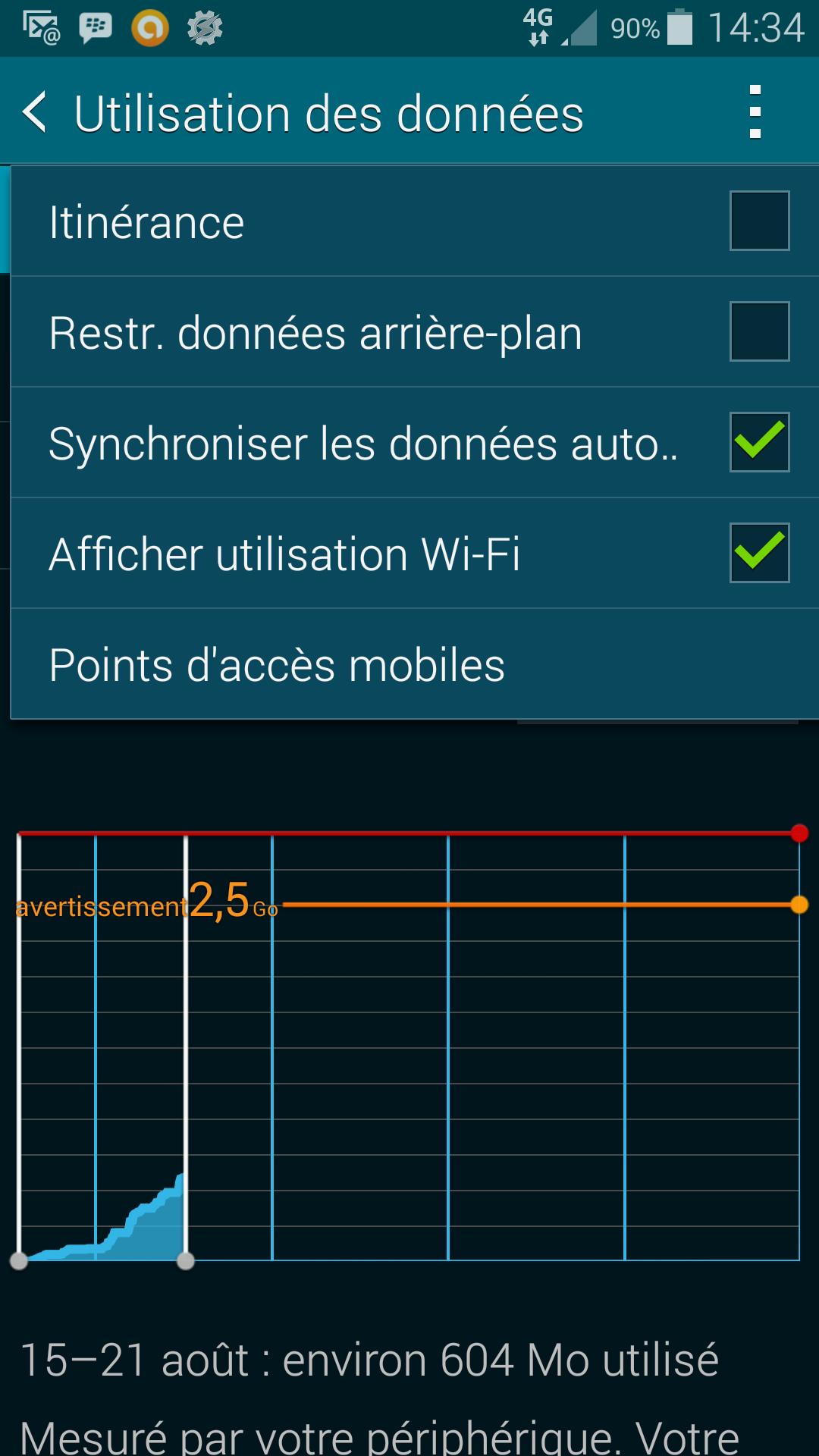 ajout donnée wifi