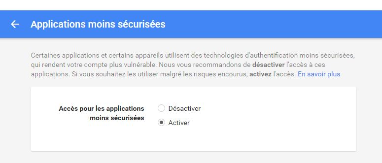 securite google